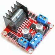 Module điều khiển động cơ dùng IC cầu H L298N